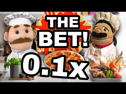 SML Movie: The Bet but every 30 seconds it gets 0.1x faster