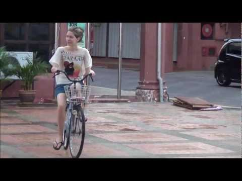 A Bike Tour Around Malacca, Malaysia