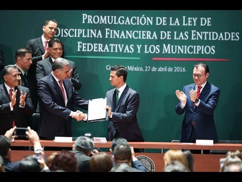 Ley de Disciplina Financiera asegura estabilidad: EPN