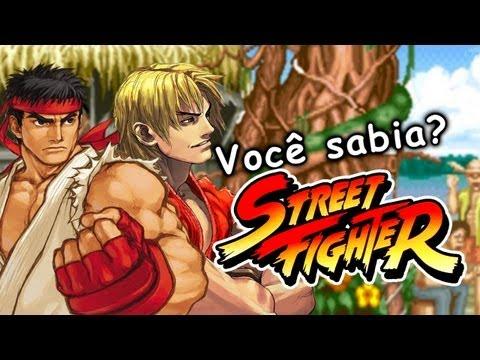 Você sabia? Street Fighter