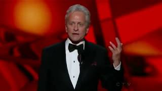 Nonton Michael Douglas Wins An Emmy For Behind The Candelabra At The 2013 Primetime Emmy Awards  Film Subtitle Indonesia Streaming Movie Download