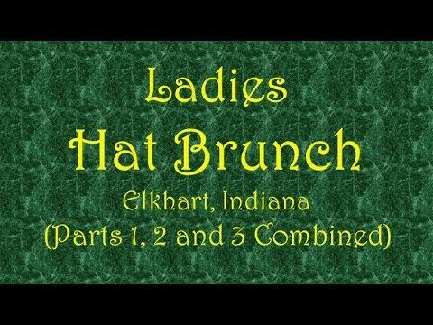 Ladies Hat Brunch – Elkhart, IN