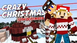 Minecraft - CRAZY CHRISTMAS [12] - A CHUBBY SANTA CLAUS!? (with TycerX)