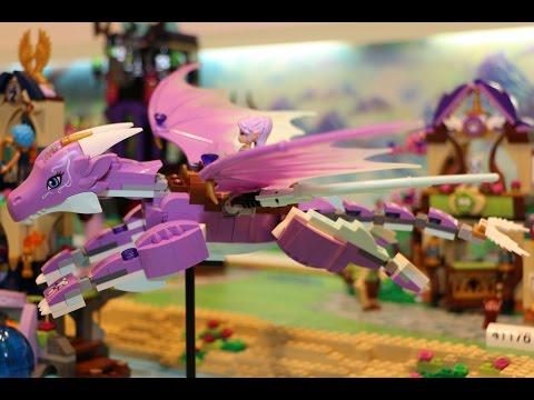 Vidéo LEGO Elves 41176 : Le marché secret
