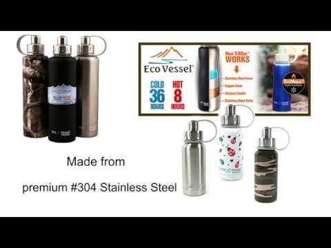 Eco Vessel - Triple Insulated Bottle - BIGFOOT 1.33 Litre