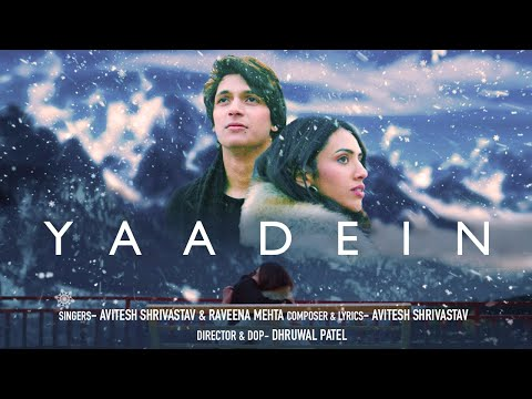 Yaadein - Official Video | Avitesh Shrivastava | Raveena Mehta | Latest Song 2020