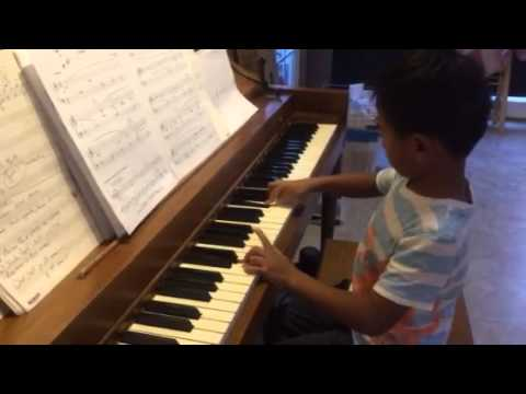 Ethan's piano play