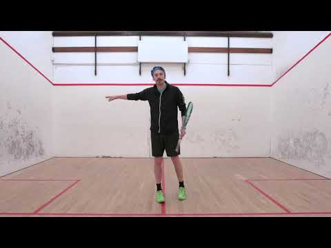 Squash tips: Movement into the back corners with Jethro Binns