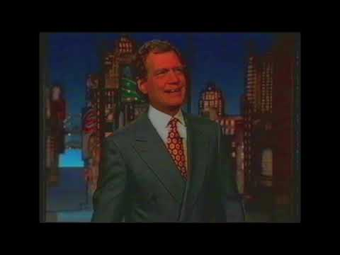 The Late Show With David Letterman With Guests John Travolta & Arnold Schwarzenegger