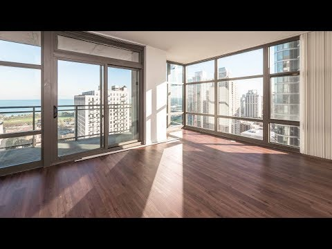 A South Loop 2-bedroom, 2-bath with a lake view at Astoria Tower
