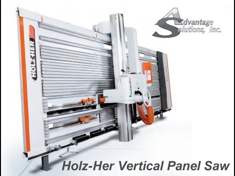 The New 1254 Holz-Her Vertical Panel Saw