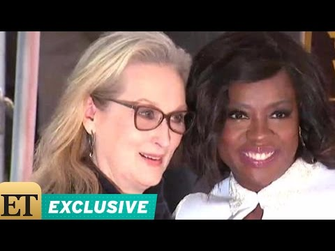 EXCLUSIVE: Viola Davis on Having Meryl Streep Speak at Her Hollywood Walk of Fame Ceremony (видео)