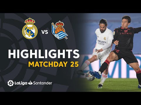 Highlights Real Madrid vs Real Sociedad (1-1)