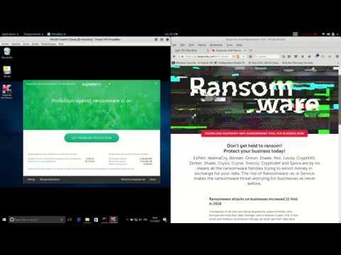 Kaspersky Anti-Ransomware test