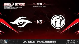 Secret vs IG.V, MDL Changsha Major, game 1 [GodHunt]