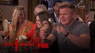 Rachel Bilson & Gordon Ramsay Partake In An Ice Cream Scooping Contest | Season 1 Ep. 5 | THE F WORD