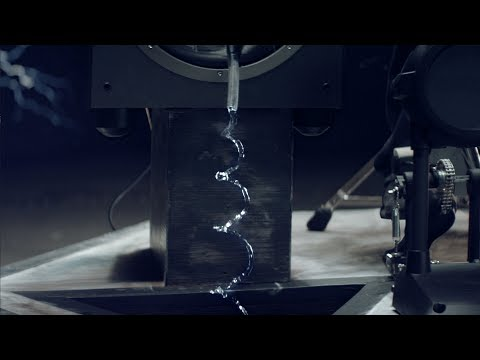 Cymatics: Hose Pipe Water Experiment (видео)