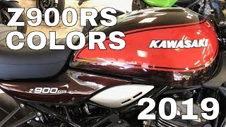 9. New 2019 Kawasaki Z900RS Color Options! - ABS & Cafe Models - Colour Range - Colors Review