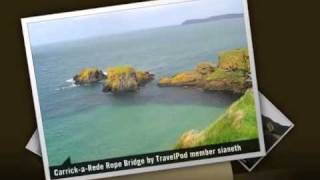 Antrim United Kingdom  city pictures gallery : Carrick-A-Rede Rope Bridge - Ballycastle, County Antrim, Northern Ireland, United Kingdom