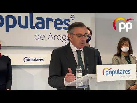 """""""El desgobierno de Sánchez y Lambán genera incerti..."""