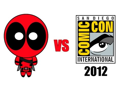 Deadpool vs Comic-Con 2012