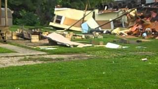 Huntingburg (IN) United States  city pictures gallery : Huntingburg Tornado Damage 20011-2