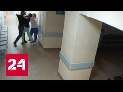 Видео жестокого избиения медиков пьяным опубликовано в Интернете