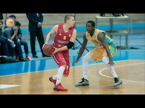 Хайлайты матча 'Астана' - 'Байзонс' 80:90