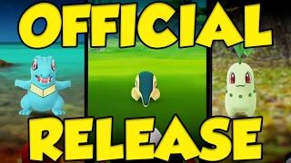 POKEMON GO JOHTO UPDATE OFFICIALLY ANNOUNCED! ALL JOHTO POKEMON IN POKEMON GO by Verlisify