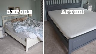 My Bed Makeover with a Lull Mattress - Thrift Diving