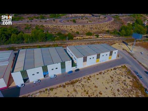 Negocio en España/Inversiones en Benidorm/Almacén para producción en Finestrat/Local para gimnasio