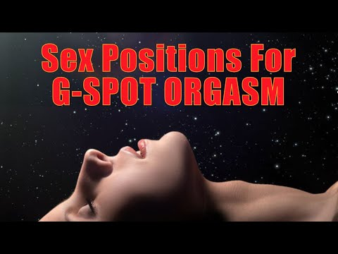 ORGASM POSITIONS - http://revolutionarysex.com/ This week's video shows you how you can stimulate the G spot and have G spot orgasms during intercourse. Most people think of th...
