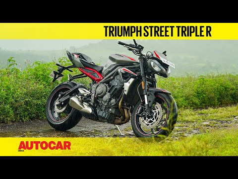 2020 Triumph Street Triple R review - Like an RS for less | First Ride | Autocar India