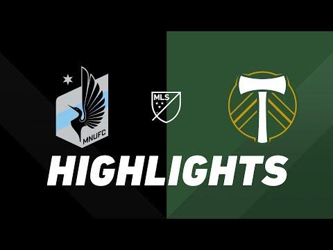 Video: Minnesota United FC vs. Portland Timbers | HIGHLIGHTS - August 4, 2019