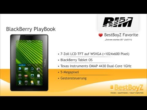 Review: BlackBerry PlayBook | BestBoyZ