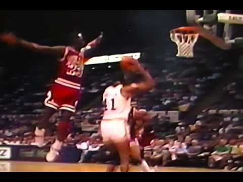 Some Of Michael Jordan's Best Blocks on Bulls