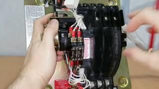 АВР ASCO переключающий механизм (серия 300/4000/7000) часть 3