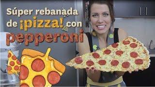 Video SÚPER REBANADA DE PIZZA CON PEPPERONI | DACOSTA'S BAKERY MP3, 3GP, MP4, WEBM, AVI, FLV Agustus 2018