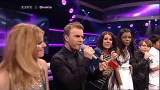 DK X Factor 2009 Patience Linda, ABC & Take That