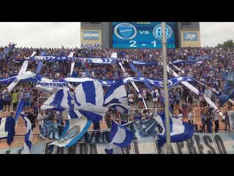 Hinchada vs Belgrano. Mendoza nos vamos de copas otra vez 🎶🎶 - La Banda del Expreso - Godoy Cruz - Argentina - América del Sur