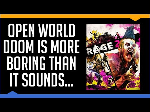 Rage 2 - A Brief Review (2019)