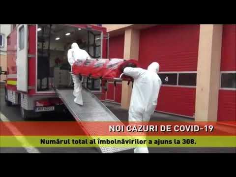 Situația la zi privind îmbolnăvirile provocate de coronavirus