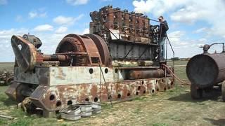 Enterprise DSG-36 Antique Diesel Engine First Fire up