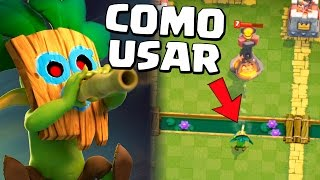 COMO USAR A NOVA CARTA GOBLIN COM DARDO NO CLASH ROYALE! Video