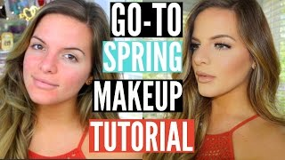 My GO-TO Spring Makeup Look! Long lasting & Heat Proof | Casey Holmes by Casey Holmes