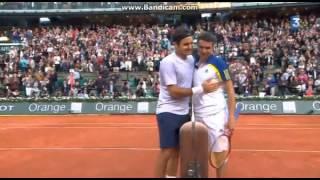 Federer Vs Simon - Balle de Match - Roland Garros 2013 - 1/8 de finale - YouTube