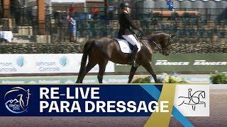 RE-LIVE Para-Dressage – Grade III Team   FEI World Equestrian Games 2018