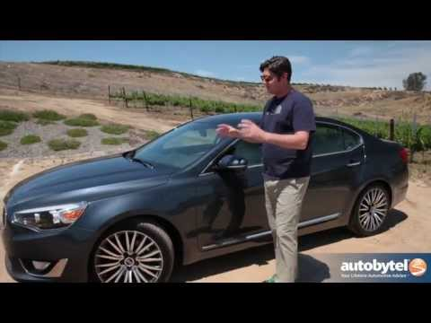 2014 Kia Cadenza Full-size Sedan Video Review