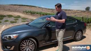 2014 Kia Cadenza Test Drive&Full-Size Sedan Video Review