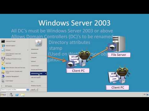 MCITP 70-640: Active Directory Domain Functional Levels